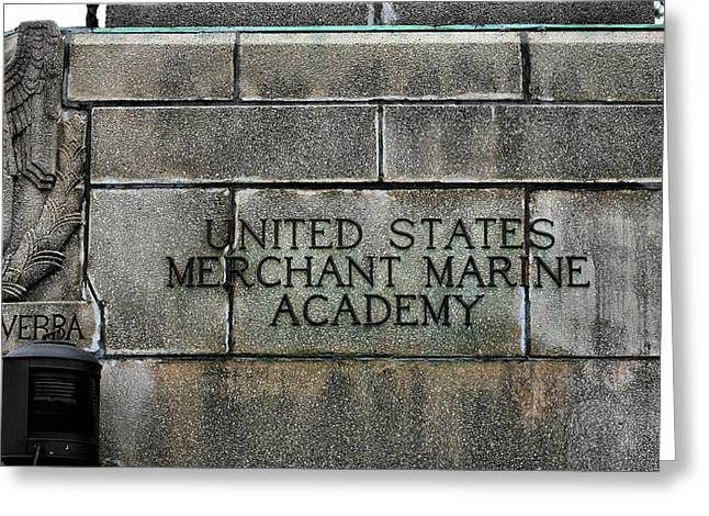Great Neck Greeting Cards - The United States Merchant Marine Academy  Greeting Card by JC Findley