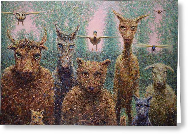 The Untamed Greeting Card by James W Johnson