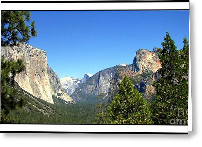 Cathedral Rock Greeting Cards - The Valley Of Inspiration-Yosemite Greeting Card by Glenn McCarthy Art and Photography