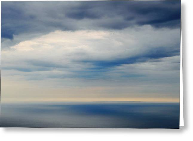 Ventura California Greeting Cards - The Vast Pacific Greeting Card by Kyle Hanson
