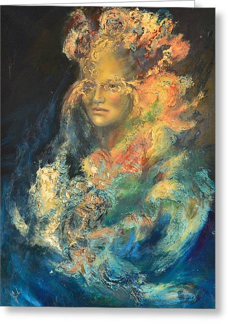 Exibition Greeting Cards - The Venetian Carnival by Mihaela Ghit Greeting Card by Mihaela Ghit