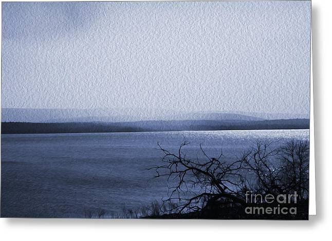 R. Mclellan Photography Greeting Cards - The Victor Landing Blues Greeting Card by R McLellan