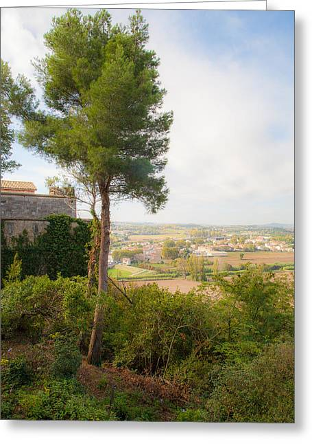 Languedoc Greeting Cards - The View from Beziers Greeting Card by W Chris Fooshee