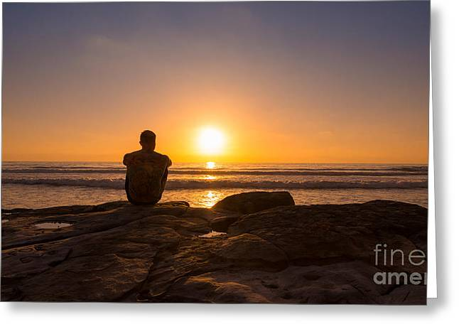 The View Wide Crop Greeting Card by Michael Ver Sprill