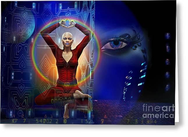 Discernment Greeting Cards - The Vision Greeting Card by Shadowlea Is