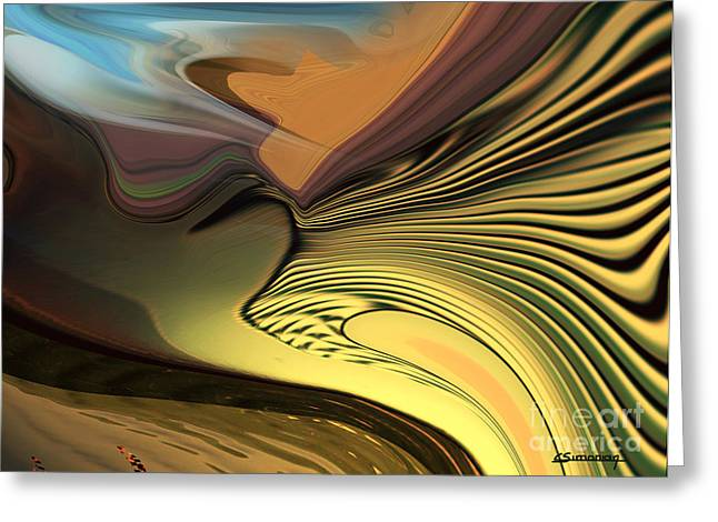 Beleive Greeting Cards - The visitation Greeting Card by Christian Simonian