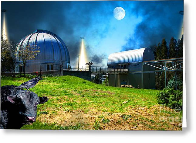 The Visitors At The Chabot Space And Science Center In The Hills Of Oakland California Dsc912 V2 Greeting Card by Wingsdomain Art and Photography