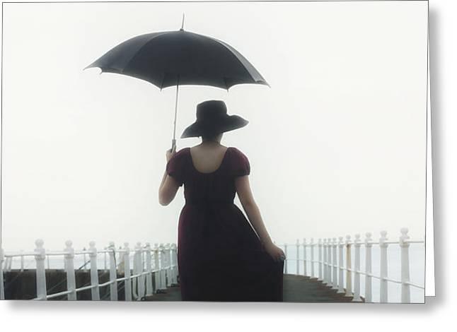 the walk Greeting Card by Joana Kruse