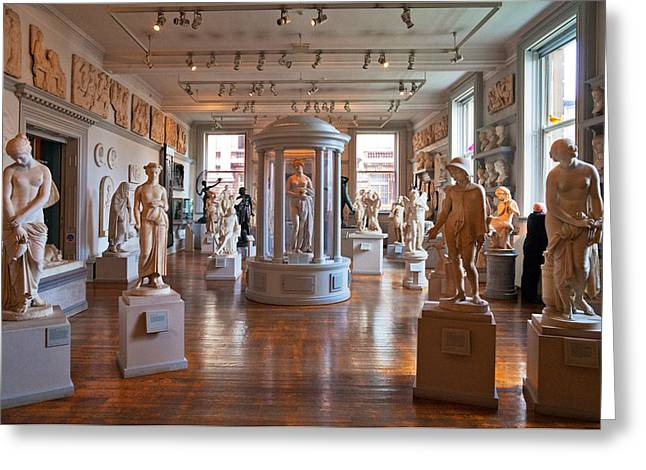 Sculpture Gallery Greeting Cards - The Walker Art Gallery, Liverpool Greeting Card by Panoramic Images