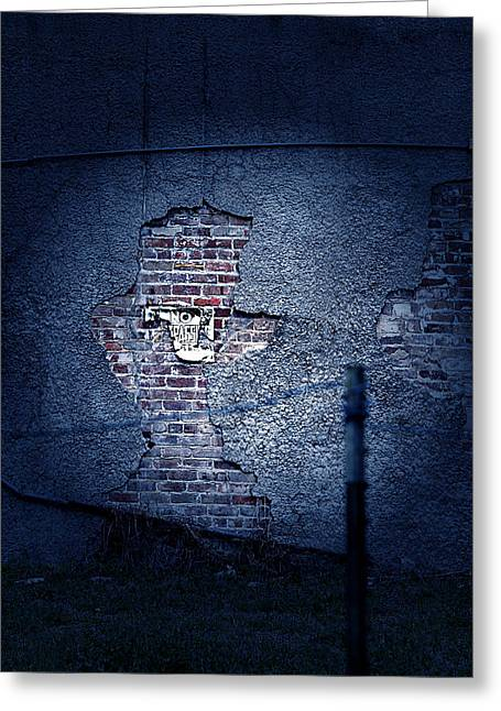 No Trespassing Greeting Cards - The Wall Pt 1 Greeting Card by Trish Mistric