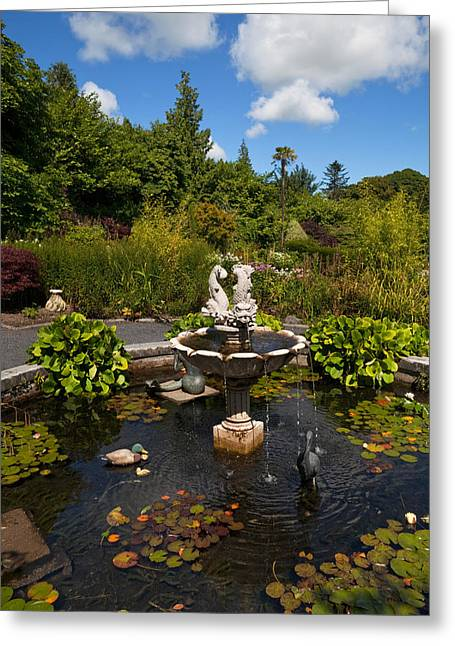 Lough Greeting Cards - The Walled Garden, Belvedere House Greeting Card by Panoramic Images