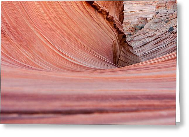 North America Greeting Cards - The Wave 54 Greeting Card by Josh Whalen