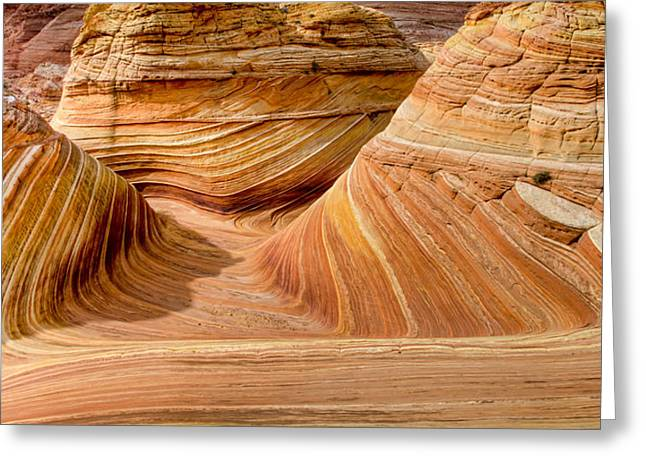 Erosion Greeting Cards - The Wave I Greeting Card by Chad Dutson