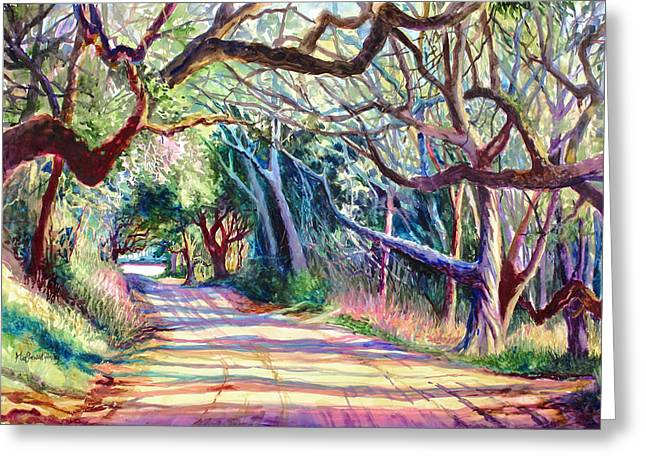 Charleston Greeting Cards - The Way Home Greeting Card by Alice Grimsley