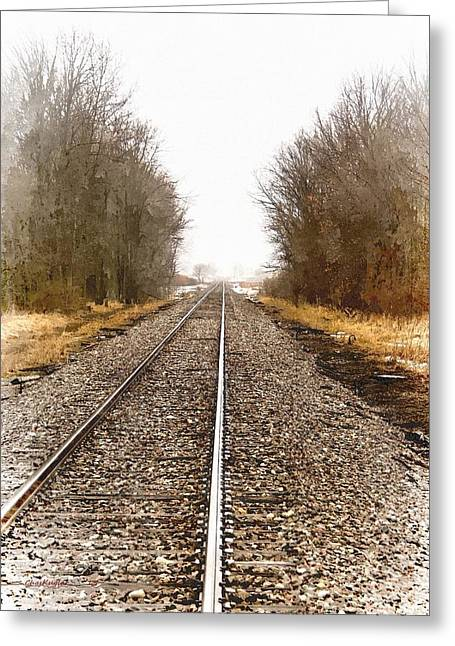 the Way Out Greeting Card by Chuck Kugler