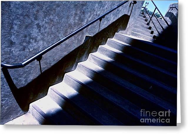 Basement Greeting Cards - The Way Out Greeting Card by Chuck Taylor