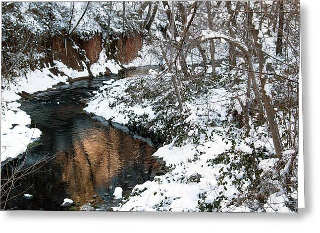 West Fork Greeting Cards - The West Fork Creek Greeting Card by Tam Ryan