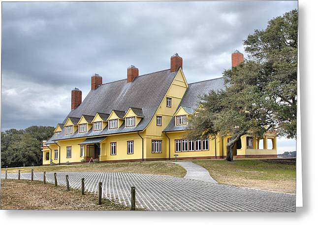 Architecture Metal Prints Greeting Cards - The Whalehead Club III Greeting Card by Steven Ainsworth