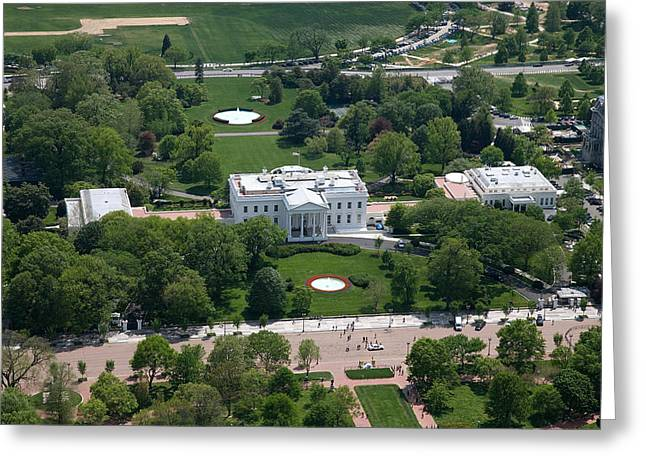 Highsmith Greeting Cards - The White House Greeting Card by Carol Highsmith