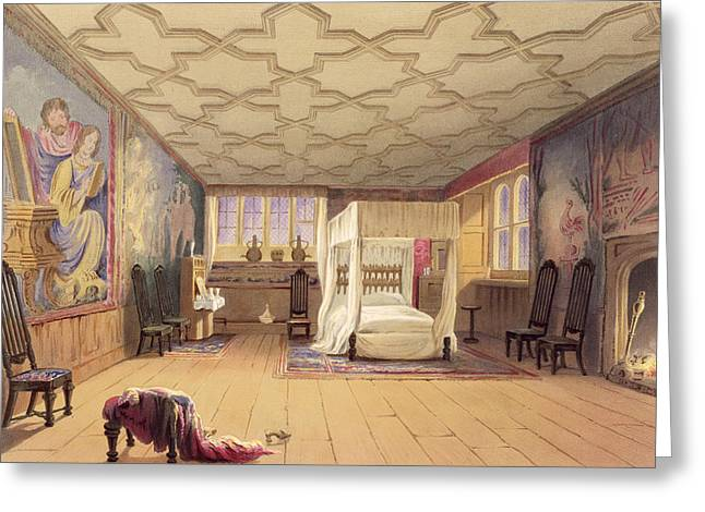 Decorate Greeting Cards - The White Room, Cotehele House Greeting Card by English School