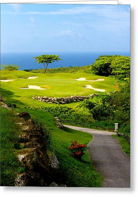 Montego Bay Greeting Cards - The White Witch Montego Bay Greeting Card by Tom Prendergast