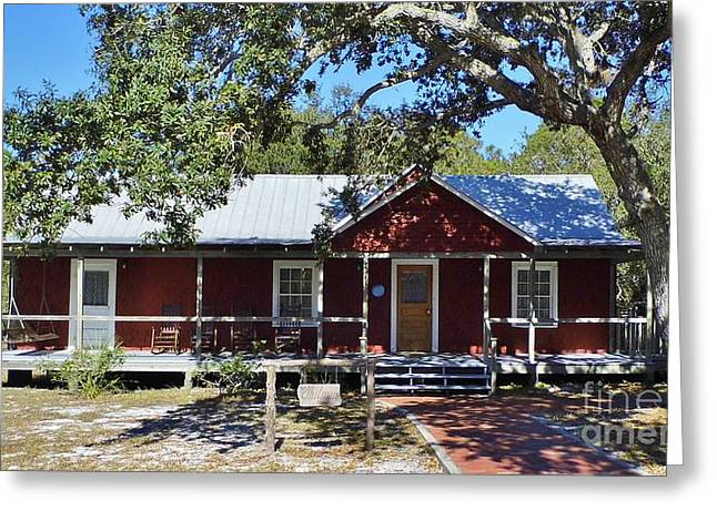 Cedar Key Greeting Cards - The Whitman House Greeting Card by D Hackett