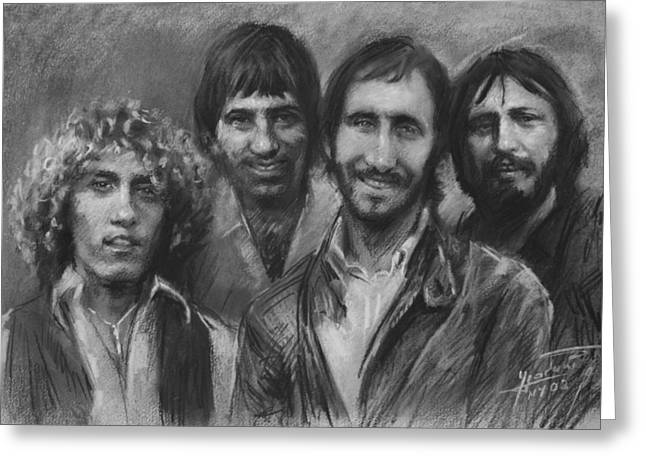 Rogers Greeting Cards - The Who Greeting Card by Viola El