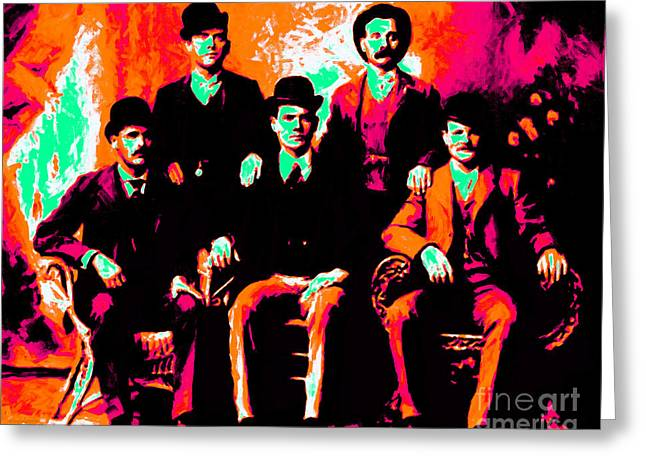 The Wild Bunch 20130212p38 Greeting Card by Wingsdomain Art and Photography