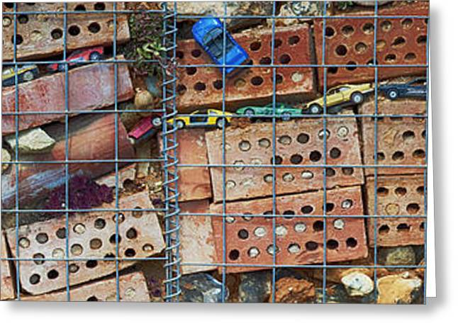 Tattered Greeting Cards - The Wildlife Wall Greeting Card by Tim Gainey