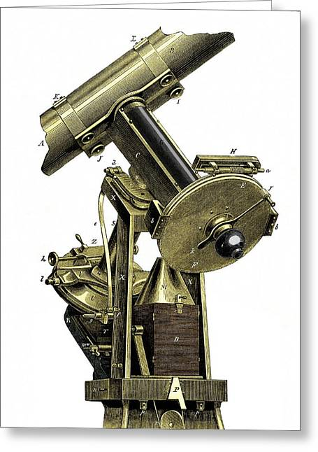The Wilna Photo-heliograph Greeting Card by Sheila Terry