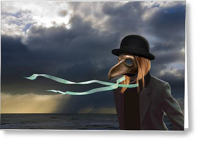 The Wind Has Changed Greeting Card by Craig Carl