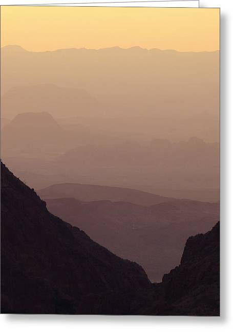 Haze Greeting Cards - The Window - Big Bend Greeting Card by Susan Porter