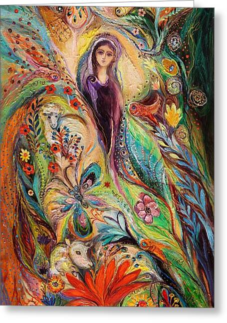 Auction Greeting Cards - The women of Tanakh Story of Rachel Greeting Card by Elena Kotliarker