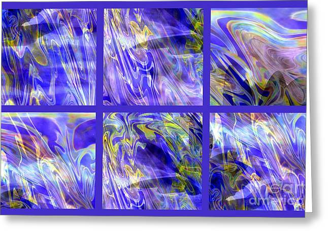 Carol Groenen Abstracts Greeting Cards - The Wonder of Beyond Greeting Card by Carol Groenen