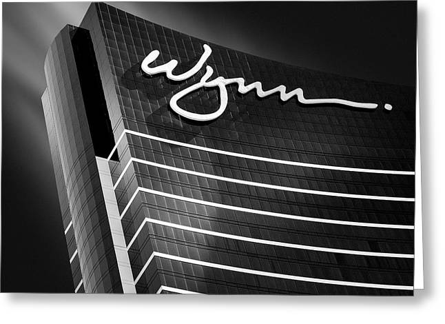 Monochrome Greeting Cards - Wynn Greeting Card by Dave Bowman