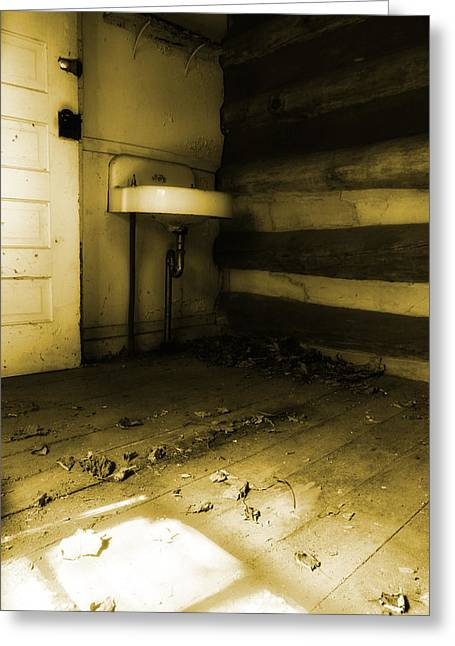 Abandoned House Greeting Cards - The Years Have Gone Away Greeting Card by Michael Eingle