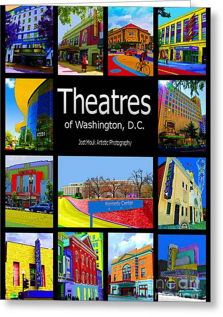 Best Sellers -  - Warner Park Greeting Cards - Theatres of Washington DC Greeting Card by Jost Houk