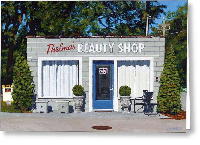 Photorealism Greeting Cards - Thelmas Greeting Card by Michael Ward