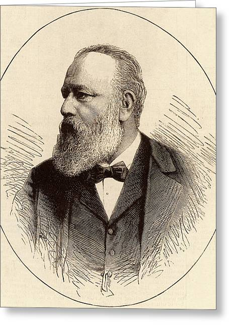 Theodor Billroth Greeting Card by Universal History Archive/uig