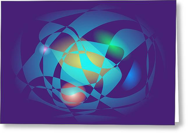 Gradations Digital Art Greeting Cards - Theoretical Precision Greeting Card by Masaaki Kimura