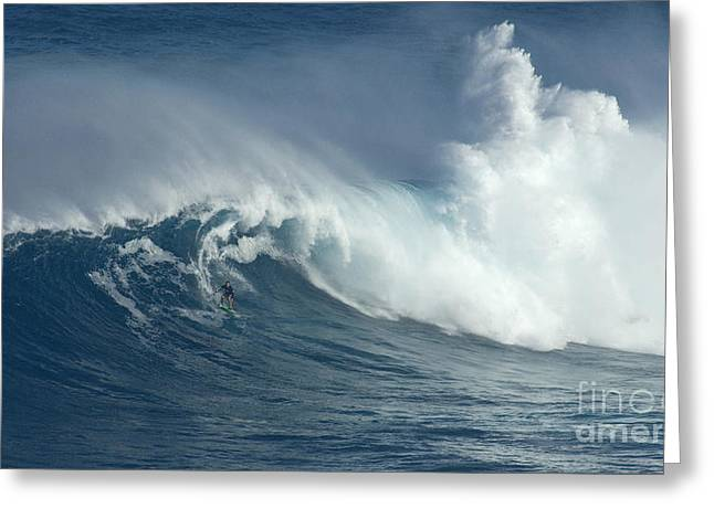 Adrenalin Greeting Cards - There Are Giants Greeting Card by Bob Christopher