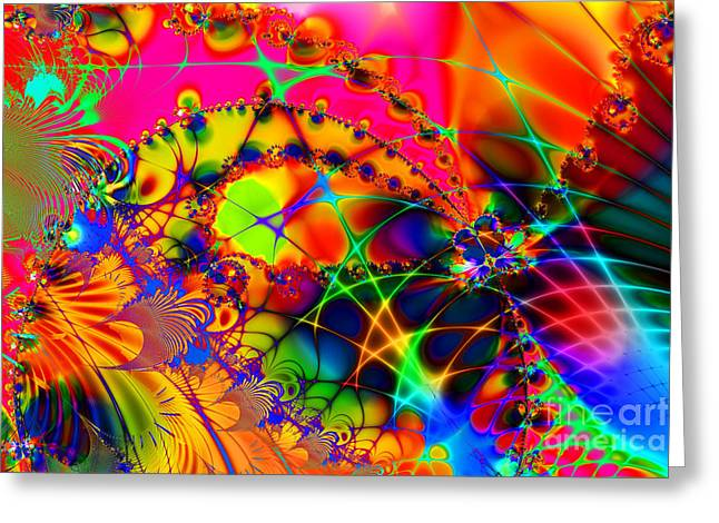 Algorithm Greeting Cards - There Are Places I Remember 20130510 Greeting Card by Wingsdomain Art and Photography