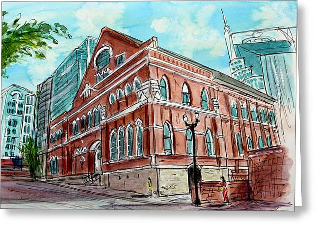Tim Ross Greeting Cards - There Is a Ryman Reason Greeting Card by Tim Ross