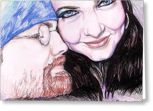 Bonding Drawings Greeting Cards - Theres Nothing Like You And I Greeting Card by Shana Rowe