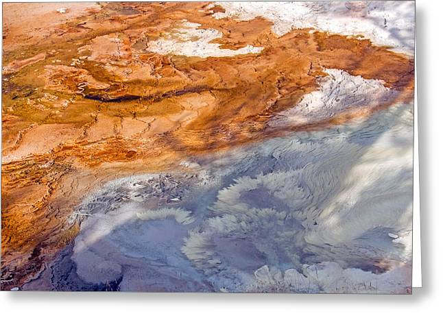 Roiling Greeting Cards - Thermophile 2 Greeting Card by Nicholas Blackwell