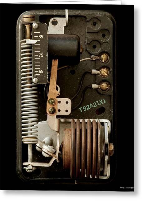 Thermostat Greeting Cards - Thermostat Greeting Card by Larry Jost
