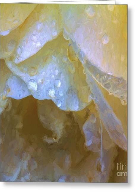 Prayer Greeting Cards - These Alone Greeting Card by Jean OKeeffe Macro Abundance Art
