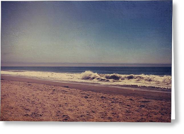 Crashing Wave Greeting Cards - They Were Sweet Sweet Dreams Greeting Card by Laurie Search
