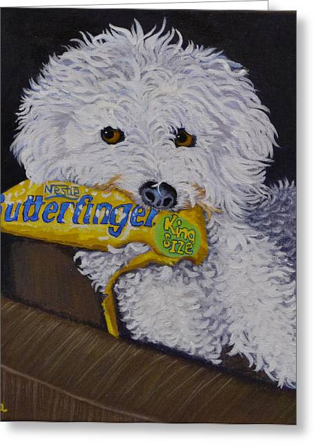 Groomer Greeting Cards - Thief Greeting Card by Susan Duda