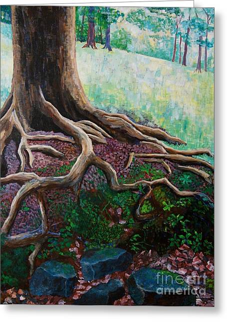 Warner Park Paintings Greeting Cards - Thinking About Eternity Greeting Card by Arthur Witulski